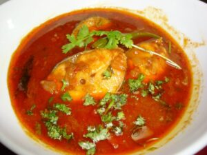 Andhra Style Fish Curry