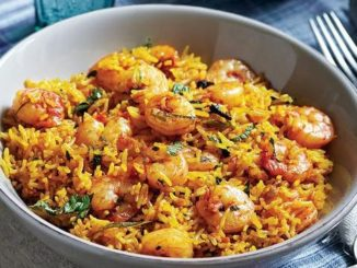 Spicy Prawn Biryani Recipe | Quick and Easy Spicy Prawn Biryani