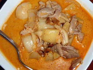 Indian Pork Curry With Potatoes Recipe