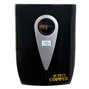 AQUA LIBRA WITH DEVICE Water Purifier with Active Copper RO+UV+UF+TDS Water Filter for Home