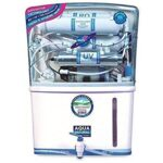 Aqua Grand 13th Stage RO+UV+TDS++UF With Mineral Cartridges Water Purifier 12 Ltr (white)