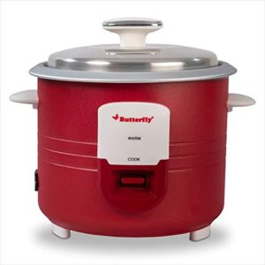 Butterfly 8906022176513 1.8L Electric Rice Cooker, Red