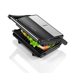Concord Sandwich Maker/Grill 1000 Watts (with 180° Opening & Oil Drip Tray)