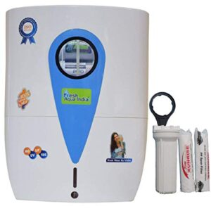 DE FRESH AQUA INDIA 15L 14STAGE RO UV UF TDS Alkaline Water Purifier with Full KIT (ZX400)