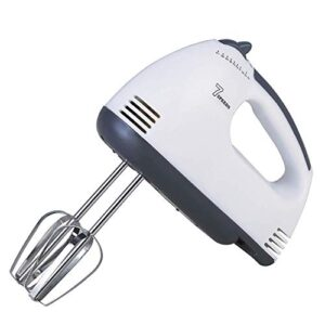 Electric 7 Speed Hand Mixer with 4 Pieces Stainless Blender, Bitter for Cake/Cream Mix, Food Blender, Beater for Kitchen…