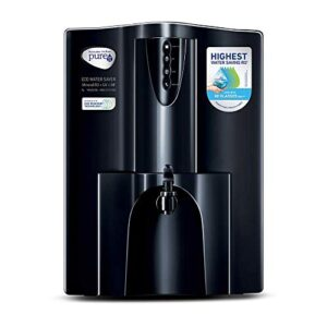 HUL Pureit Eco Water Saver Mineral RO+UV+MF AS wall mounted/Counter top Black 10L Water Purifier