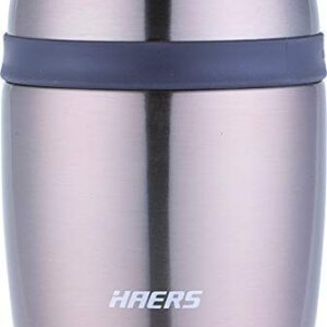 Haers Stainless Steel Double Wall Vacuum Insulated Thermal Lunch Box, Meal Container, Thermos Tiffin, Meal Jar, Food Jar…