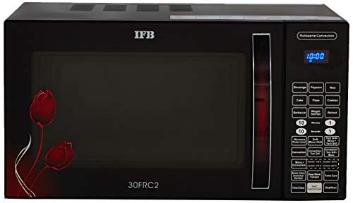 IFB 30 L Convection Microwave Oven (30FRC2, Floral Pattern) (Black), STANDARD