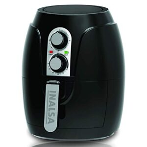 Inalsa Air Fryer 2.3 L Crispy Fry-1200W with Smart Rapid Air Technology, Timer Selection And Fully Adjustable…