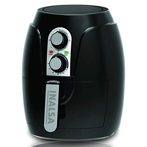 Inalsa Air Fryer Crispy Fry-1200W with Smart Rapid Air Technology, Timer Selection and Fully Adjustable Temperature…