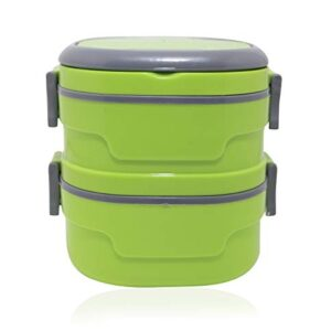 Insulated Adjustable Lunch Box for Women/Men Lunch Box for Office Work School Picnic Beach 2 Containers Lunch Box…