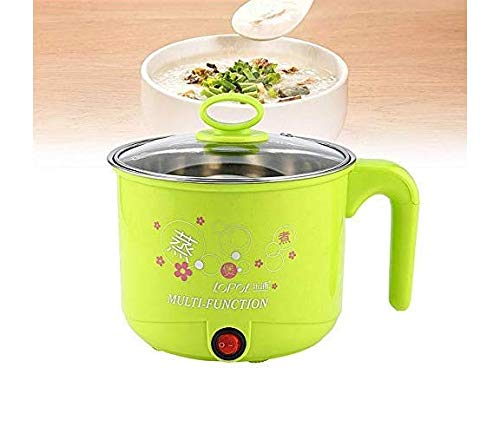 J - GO THE BUSINESS HUB 1.5 Litre Multi-Purpose Mini Electric Cooker Steamer Food Pans Small Warming Pots for Steamer…