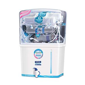 Kent - 11076 New Grand 8-Litres Wall-Mountable RO + UV+ UF + TDS (White) 20 litre/hr Water Purifier Water Purifiers Price List Water Purifiers Models RO Water Purifiers For Home