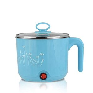 Kiesh Electric Multifunction Cooking Pot 1.8 Litre Multi Purpose Cooker Mini Electric Cooker Steamer Cook pots for Cook…