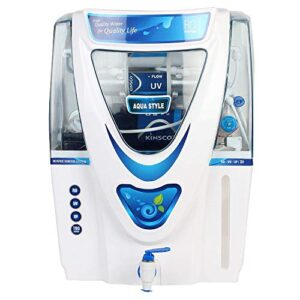 Kinsco Aqua Style 15 Litre RO + UV + UF + TDS Adjsuter Water Purifier (With Free Pre Filter)