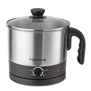 Lifelong Multifunction Cooker/Kettle 1.5 litres (Best for Boiling Milk, Eggs, Soup and Maggi/Noodles)