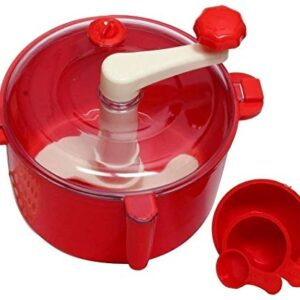 MD ENTERPRISE Plastic Atta/Dough Maker for Kitchen (Multicolor)