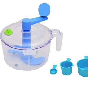 One Stop Shop Slings Dough/Atta Maker Must For Every Kitchen, Blue