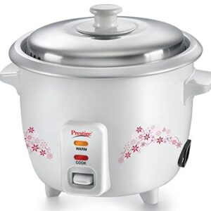 Prestige Delight PRWO 1.5 Electric Rice Cooker with Steaming Feature