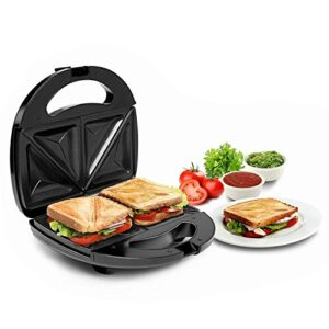 Russell Hobbs RST750SW 750 Watt Non-Stick Crispy Sandwich Toaster for Multi-Snacks with Fixed Plates and 2 Year…