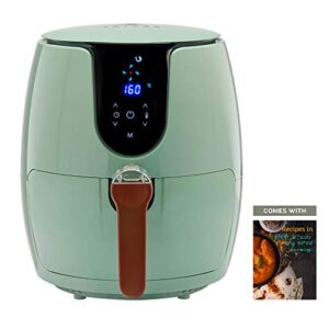 SOLARA Digital Air Fryer for Home Kitchen with 6 Pre set modes for Indian cooking | Deep Fryer without oil, Non Stick…