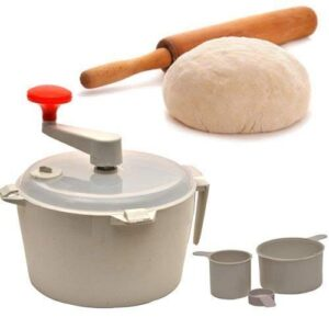 GANGA Dough Atta Roti Maker for Home (Multicolor)