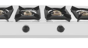 Suryaflame 4B Capri (BB) NA Gas Stove (ISI & CE Approved) with Doorstep Warranty