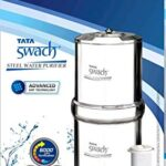 TATA SWATCH Stainless Steel Water Purifier Water Purifiers Price List Water Purifiers Models RO Water Purifiers For Home