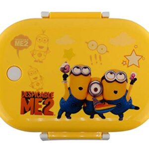 Toyboy Cartoon Print Insulated Stainless Steel Kids Lunch Box – Yellow