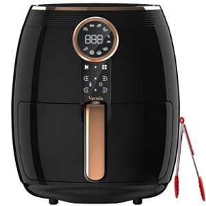 VARADA Pro Air fryer 4.5 liter large capacity with 3D rapid hot air circulation technology with beautiful touch panel…